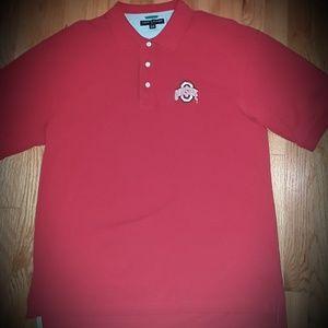 Tommy Hilfiger Ohio State OSU Polo Shirt XL